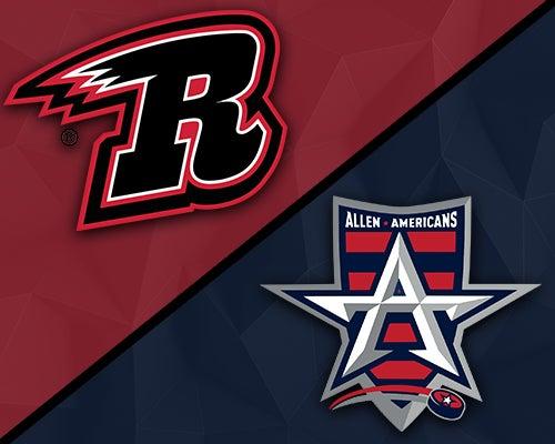 More Info for Rapid City Rush vs. Allen Americans