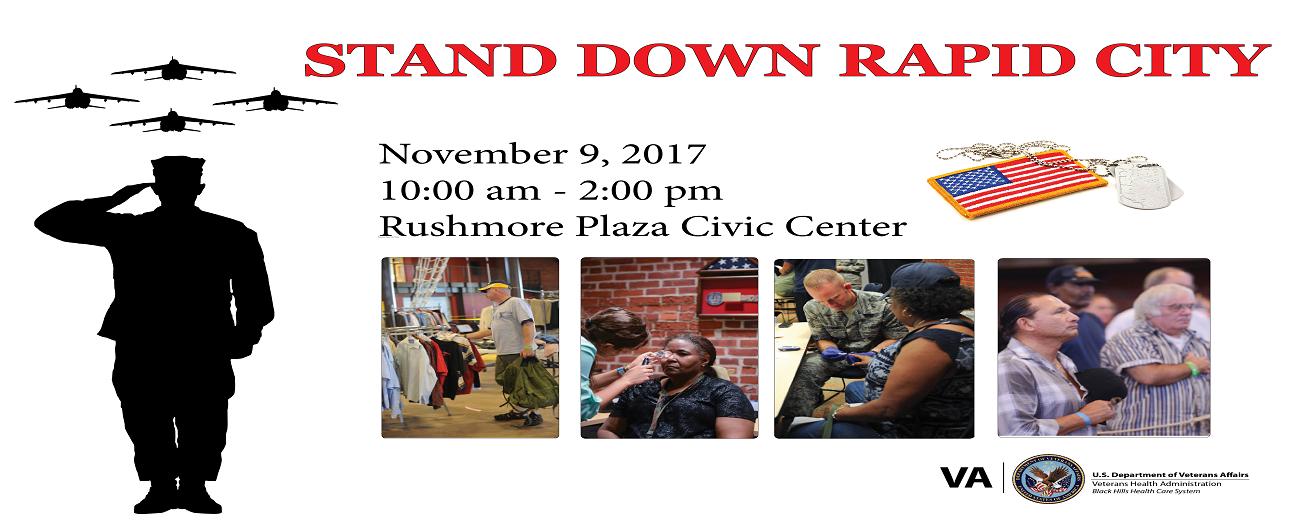 VA Stand Down Rapid City   Rushmore Plaza