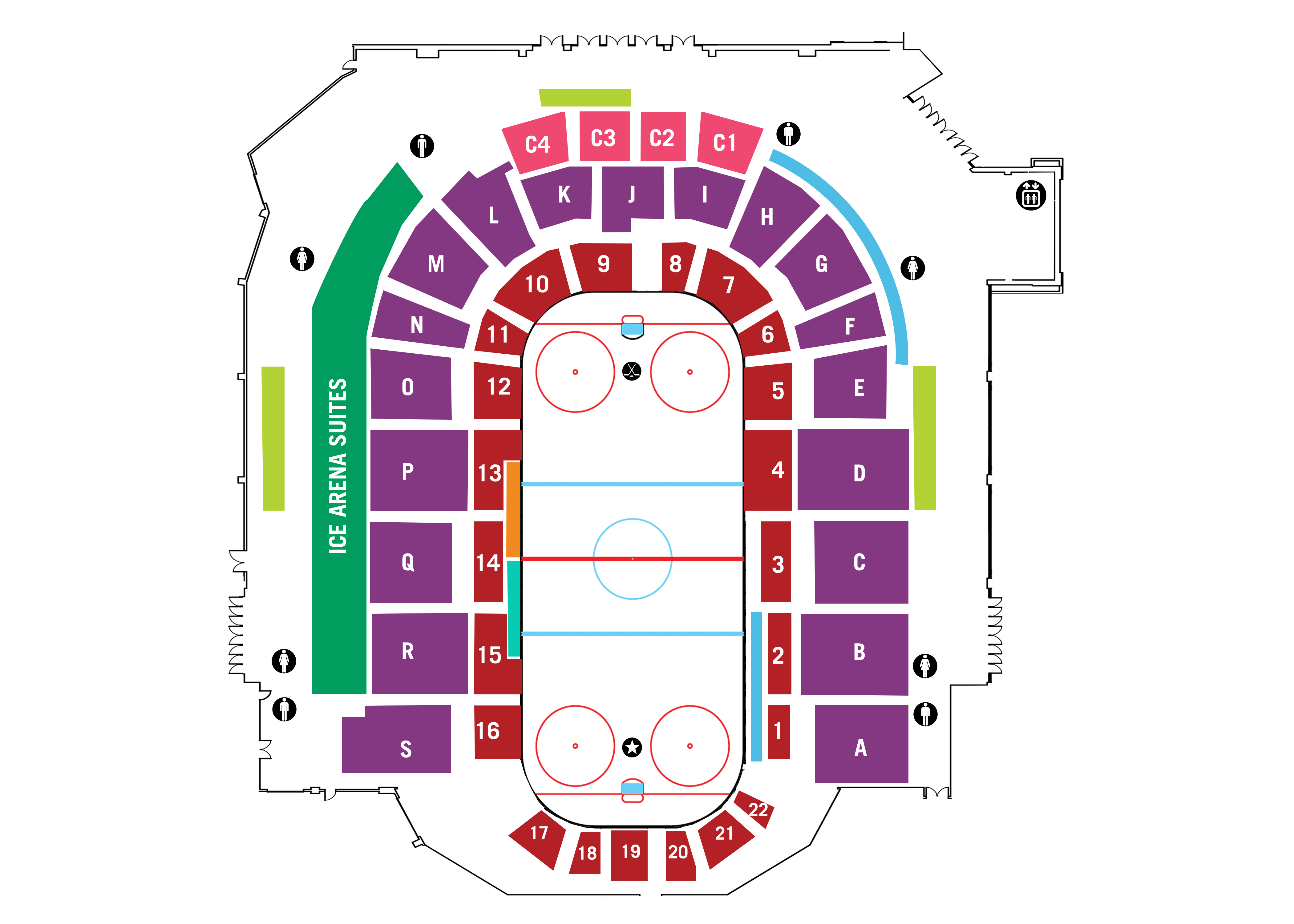 Ice Arena Map