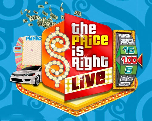 More Info for Price is Right Live
